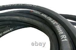 100ft. Steel Braided Gas Pressure Washer Hose 4000 PSI 3/8 High Quality Dewalt