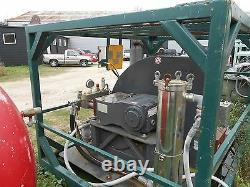 10,000 PSI PRESSURE WASHER 10gpm hydro blaster diesel/ RENTAL AVAL. Low hours