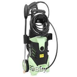 1800W 3000PSI 1.7GPM Electric High Pressure Washer Cleaner Machine Green