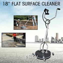 18 Flat Surface&Concrete Cleaner Pressure Washer 4000PSI/275BAR cold/hot Water