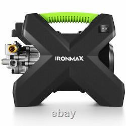 2000PSI X-Shaped Electric High Pressure Washer Machine 1.6 GPM 1500W Green