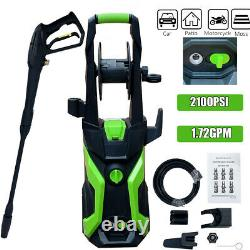 2100PSI 1.72GPM Electric Pressure Washer High Power Water Cleaner Machine Kit US