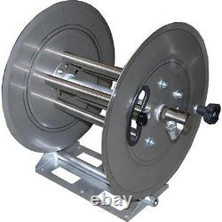 250 ft Pressure Washer Hose Reel Stainless Steel 5000 psi 400 Degree