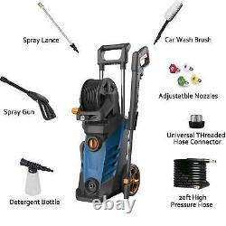 30003800PSI 2.8GPM Electric Pressure Washer High Power Cleaner Machine Sprayer