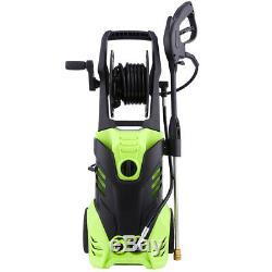 3000PSI 1.80GPM Electric Pressure Washer High Power Cold Water Cleaner Machine `