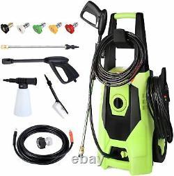 3000PSI 1.8GPM Electric Pressure Washer High Power Cleaner Sprayer Machine Kit