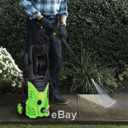 3000PSI 1.8GPM Electric Pressure Washer High Power Water Cleaner Machine Green