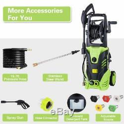 3000PSI 1.8GPM Electric Pressure Washer High Power Water Cleaner Sprayer