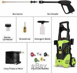 3000PSI 1.8GPM Electric Pressure Washer Home Power Cleaner Machine Sprayer Kit