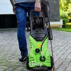 3000PSI 1.8GPM Electric Pressure Washer Power Water Cleaner Machine 5 Nozzles