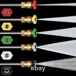3000PSI 1.9GPM Electric Pressure Washer High Power Garden Water Sprayer Cleaner