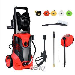 3000PSI Electric High Pressure Washer Machine 2 GPM 2000W with Deck Patio Cleaner