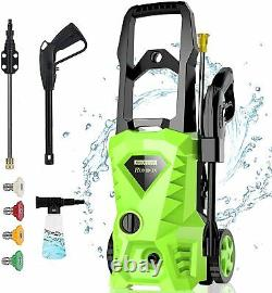 3000PSI Electric Pressure Nozzle Washer High Power Cleaner Water Sprayer Machine