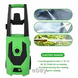 3000 PSI 1.7GPM Electric Pressure Washer High Powerful Water Cleaner Machine E