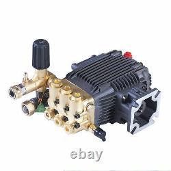 3000 PSI Power Pressure Washer Triplex Pump Cat General AR 3/4 shaft 6.5 HP