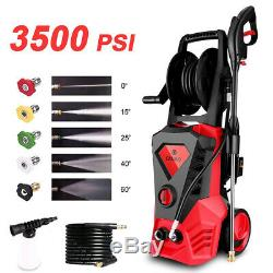 3500PSI 2.6GPM Electric Pressure Washer High Power Car Water Cleaner Machine