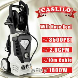 3500PSI 2.6GPM Electric Pressure Washer High Power Water Cleaner Machine Sprayer