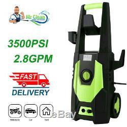 3500PSI 2.8GPM Electric Pressure Washer High Power Water Cleaner Sprayer Machine