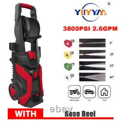 3500/3800PSI 2.6GPM Electric Changeable Pressure Washer Cleaner Auto Jet Machine