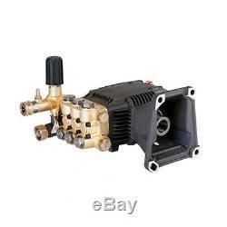 3600 PSI 4.7 GPM Triplex Pump 1 Hollow Shaft Pressure Power Washer pump