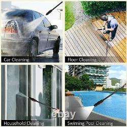 3800PSI 2.6GPM Electric Pressure Washer High Power Cold Water Cleaner Sprayer