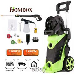 3800PSI 2.8GPM Electric Pressure Washer Powerful Cold Water Cleaner Machine Kits