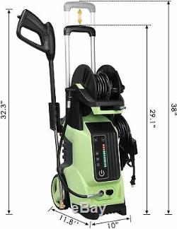 3800PSI 2.8GPM Electric Screen Pressure Washer High Power Water Cleaner Machine