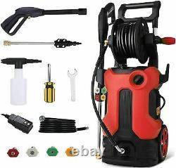 3800PSI 3.0GPM Electric Pressure Washer Cleaner Water Sprayer Machine +Full Kits
