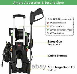 3800 PSI 2.8 GPM Smart Pressure Washer Electric High Power Surface Cleaner Kit