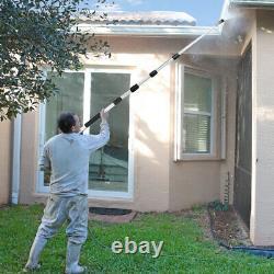 4000PSI 18Ft Home Self Use Grade Telescoping Pressure Washer Spray Wand 5 Nozzle