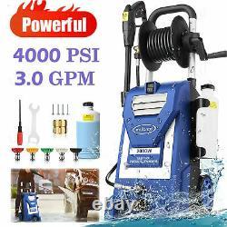 4000PSI-3.0GPM Electric Pressure Washer`High-Power Cleaner&Water Sprayer Machine
