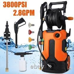 4000PSI-Electric Pressure Washer^High-Power Cleaner, Water Sprayer Machine+3.0GPM