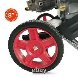 4800PSI Max 7HP Gas Pressure Washer W. Power Spray Gun 4-Stroke 5 Nozzles New