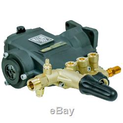 AAA Fully Plumbed 3400 PSI 2.5 GPM Horizontal Triplex Plunger Replacement Pre