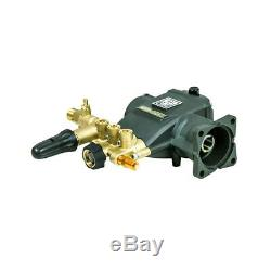 AAA Triplex Plunger Pump, 2.5GPM@3400PSI 8.7GA12
