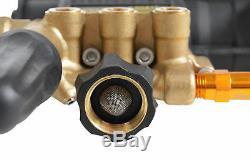 AAA Triplex Plunger Pump Kit 3200 PSI @ 2.8 GPM 9.6GA12-1