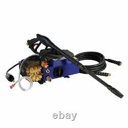 AR Blue Clean Professional 1900 PSI (Electric-Warm Water) Hand Carry Pressure
