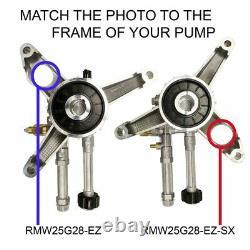 Annovi Reverberi RMW25G28-EZ-SXPKG Pressure Washer Pump, Axial, 2.5GPM@2800PSI