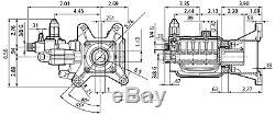 Annovi Reverberi RSV4G40HD-F40-EZ Pump, RSV4G40, 4000PSI@4GPM