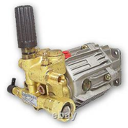Annovi Reverberi SJV3G27D-F7 Pressure Washer Pump, Triplex, 3.0 GPM@2700 PSI, 34