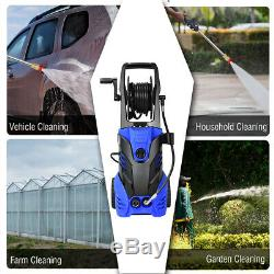 Automatical 3000PSI Electric High Pressure Washer 2000W 2GPM withPatio Cleaner