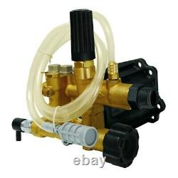 BE 85.120.035B 3,000 PSI 2.5 GPM Axial Pressure Washer Pump, 3/4-inch Shaft