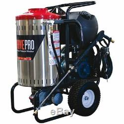 BravePro Professional 2000 PSI (Electric Hot Water) Pressure Washer with Steam