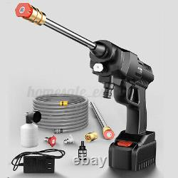 Cordless Pressure Washer Portable Power Cleaner 500 psi /2.0 A Battery & Charger