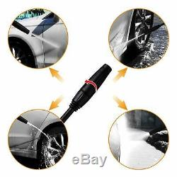 DEKO 1800 PSI Electric Pressure Washer with Power Hose Nozzle Gun