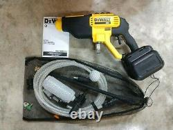 DeWalt 20v Max Cordless 550 PSI Cold Water Power Cleaner Model# DCPW550