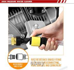 ETOSHA 4800PSI Max 6.5HP Gas Pressure Washer Power Spray Gun 5 Nozzles 4-Stroke