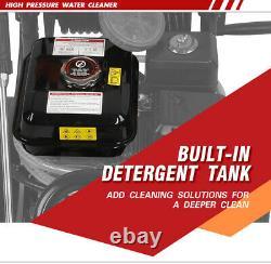 ETOSHA Pressure Washer 4800PSI 6.5HP Gas with Power Spray Gun 4-Stroke 5 Nozzles