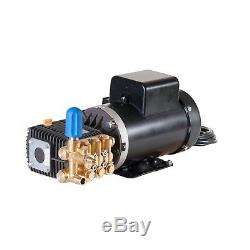Electric Pressure Power Washer 2500 PSI 5.0 HP 3.1 GPM 220V 3400 RPM