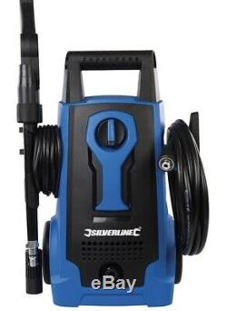 Electric Pressure Washer 1500PSI Power Jet garden Patio Car Outdoor With wheels